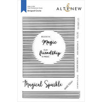 Altenew - Clear Photopolymer Stamps - Striped Circle