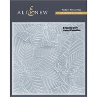 Altenew - Embossing Folder - 3D - Perfect Poinsettias