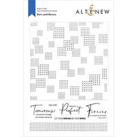 Altenew - Clear Photopolymer Stamps - Dots and Boxes