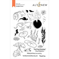 Altenew - Clear Photopolymer Stamps - Goldfish Pond