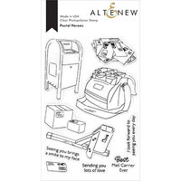 Altenew - Clear Photopolymer Stamps - Postal Heroes