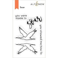 Altenew - Clear Photopolymer Stamps - Soar