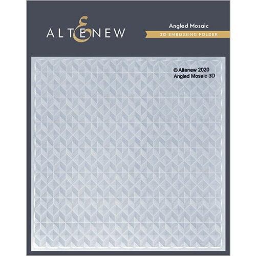 Altenew - Embossing Folder - 3D - Angled Mosaic