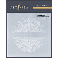 Altenew - Embossing Folder - 3D - Ornamental Feature