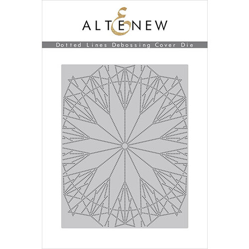 Altenew - Dies - Debossing Cover - Dotted Lines