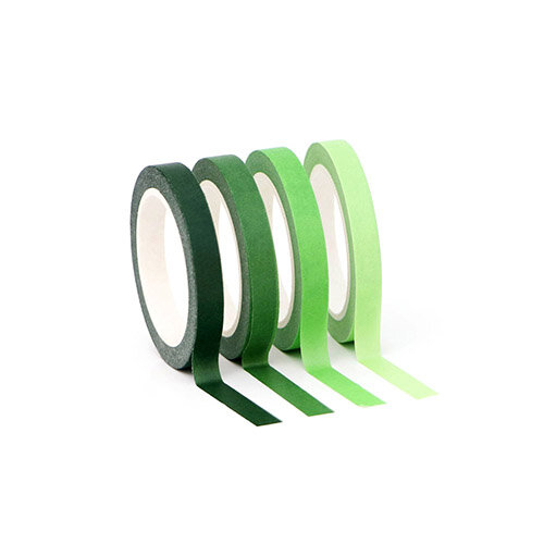 Altenew - Washi Tape - Slim Set - Green Valley
