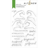 Altenew - Clear Photopolymer Stamps - A Little Bit of Love