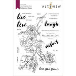 Altenew - Clear Photopolymer Stamps - Enchanted Roses