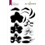 Altenew - Clear Photopolymer Stamps - Spotted Orchid