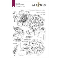 Altenew - Clear Photopolymer Stamps - Vintage Garden