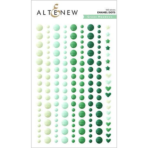 Altenew - Enamel Dots - Green Meadows