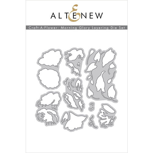 Altenew - Layering Dies - Craft A Flower - Morning Glory
