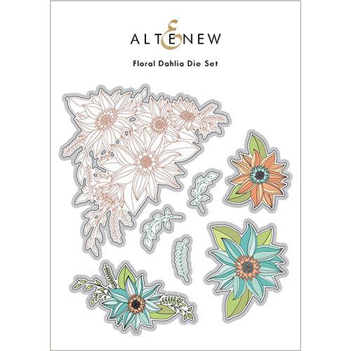 Altenew - Dies - Floral Dahlia