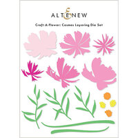 Altenew - Layering Dies - Craft A Flower - Cosmos