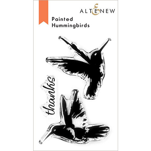 Altenew - Clear Photopolymer Stamps - Painted Hummingbirds