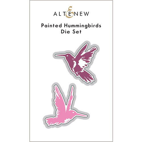 Altenew - Dies - Painted Hummingbirds