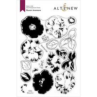 Altenew - Clear Photopolymer Stamps - Queen Anemone