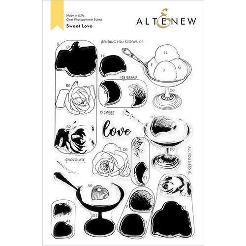 Altenew - Clear Photopolymer Stamps - Sweet Love