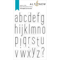 Altenew - Clear Photopolymer Stamps - Tall Alpha Lowercase