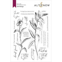 Altenew - Clear Photopolymer Stamps - Tall Foliage