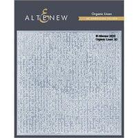Altenew - Embossing Folder - 3D - Organic Linen