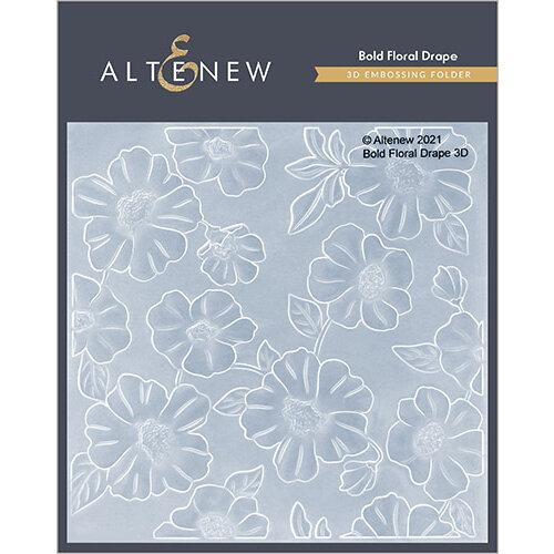 Altenew - Embossing Folder - 3D - Bold Floral Drape