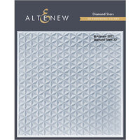Altenew - Embossing Folder - 3D - Diamond Stars