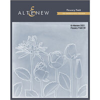 Altenew - Embossing Folder - 3D - Flowery Field