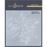 Altenew - Embossing Folder - 3D - Majestic Bloom