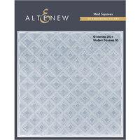 Altenew - Embossing Folder - 3D - Mod Squares