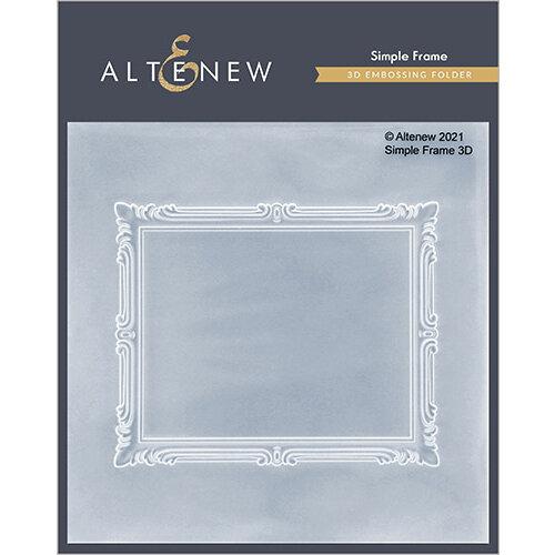 Altenew - Embossing Folder - 3D - Simple Frame