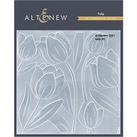 Altenew - Embossing Folder - 3D - Tulip