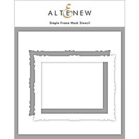 Altenew - Mask Stencil - Simple Frame