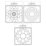 Altenew - Builder Stencil - 3 in 1 Set - Mandala