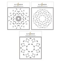 Altenew - Builder Stencil - 3 in 1 Set - Mandala