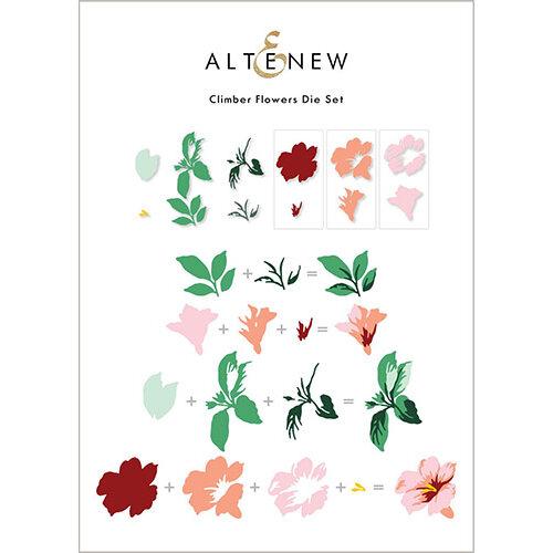 Altenew - Dies - Climber Flowers