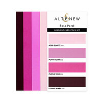 Altenew - Gradient Cardstock Set - Rose Petal