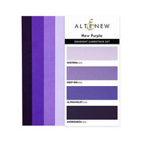 Altenew - Gradient Cardstock Set - New Purple