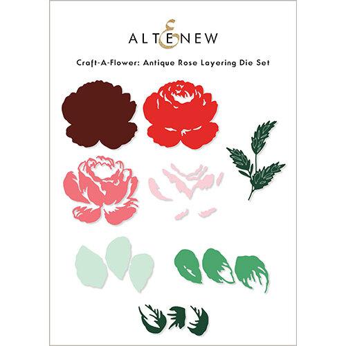 Altenew - Layering Dies - Craft A Flower - Antique Rose