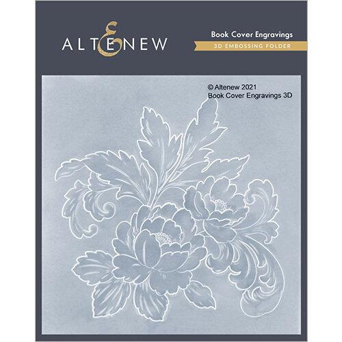 Altenew - Embossing Folder - 3D - Book Cover Engravings