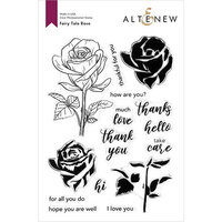 Altenew - Clear Photopolymer Stamps - Fairy Tale Rose