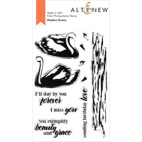 Altenew - Clear Photopolymer Stamps - Modern Swans