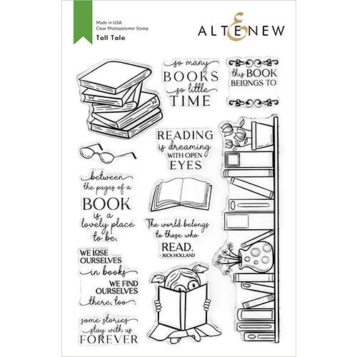 Altenew - Clear Photopolymer Stamps - Tall Tale