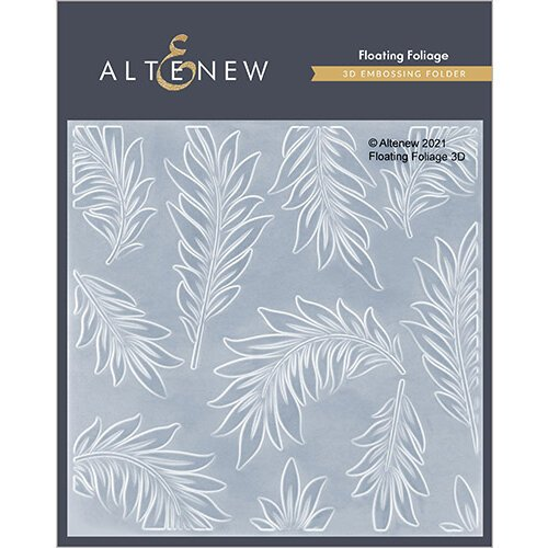 Altenew - Embossing Folder - 3D - Floating Foliage