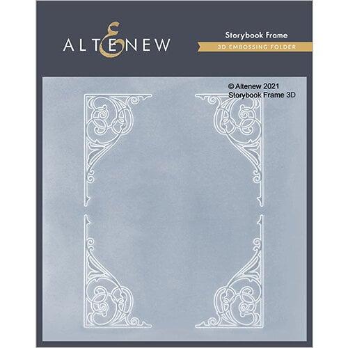 Altenew - Embossing Folder - 3D - Storybook Frame