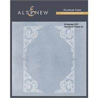 Altenew - Embossing Folder - 3D - Storybook Frame