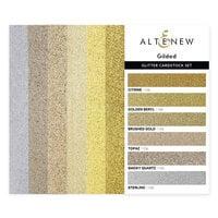Altenew - Glitter Cardstock Set - Gilded