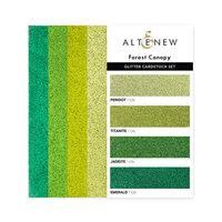 Altenew - Glitter Gradient Cardstock Set - Forest Canopy