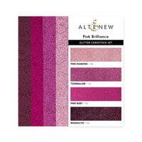 Altenew - Glitter Gradient Cardstock Set - Pink Brilliance