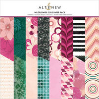 Altenew - Wildflower Collection - 12 x 12 Paper Pack - 16 Sheets